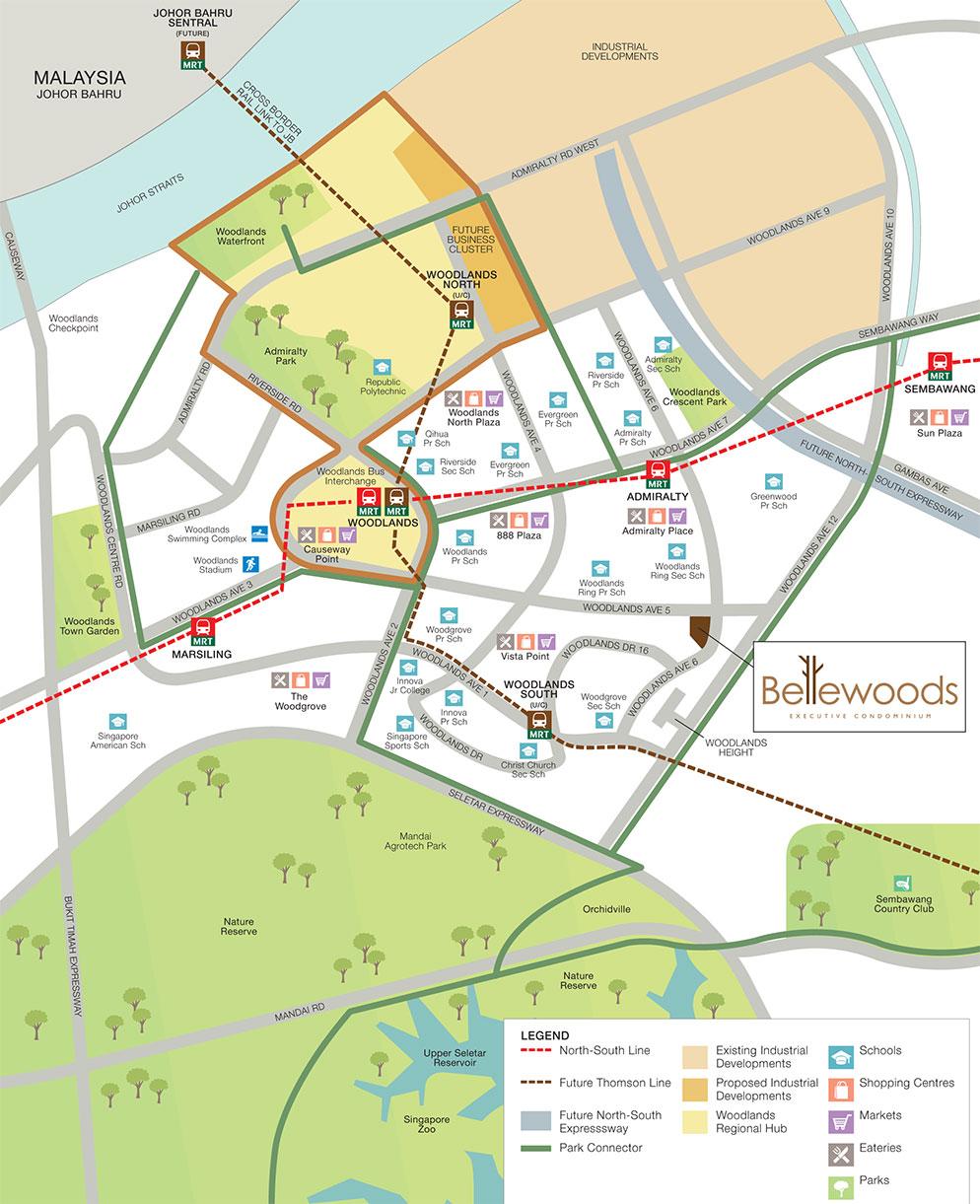 Bellewoods Location