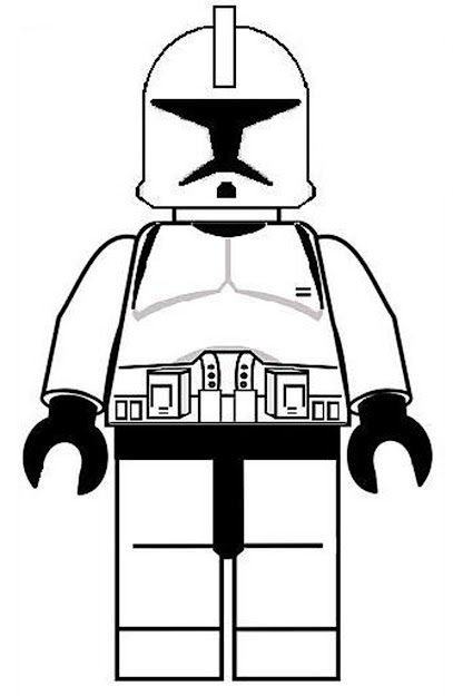 Lego Coloring Pages Stormtrooper