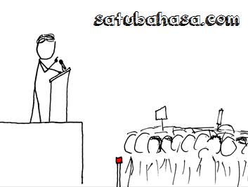 pidato visi misi calon ketua osis
