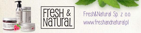 Dla Wegan i Wegetarian - kosmetyki Fresh & Natural - recenzja