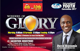 Salvation Ministries international youth convention