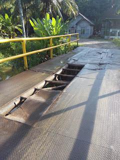 Jembatan Ketapang 2 Rusak Lagi