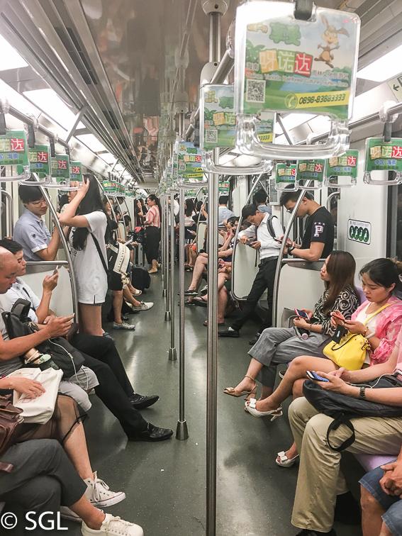 Como utilizar el metro de Shanghai
