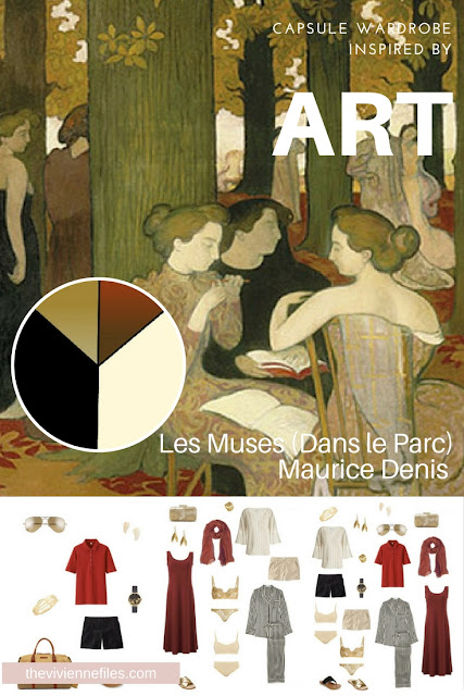 How to Pack for a Spa Weekend? Start with Art: Dans leParc by Maurice Denis