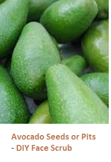 Avocado Seeds or Pits - DIY Face Scrub