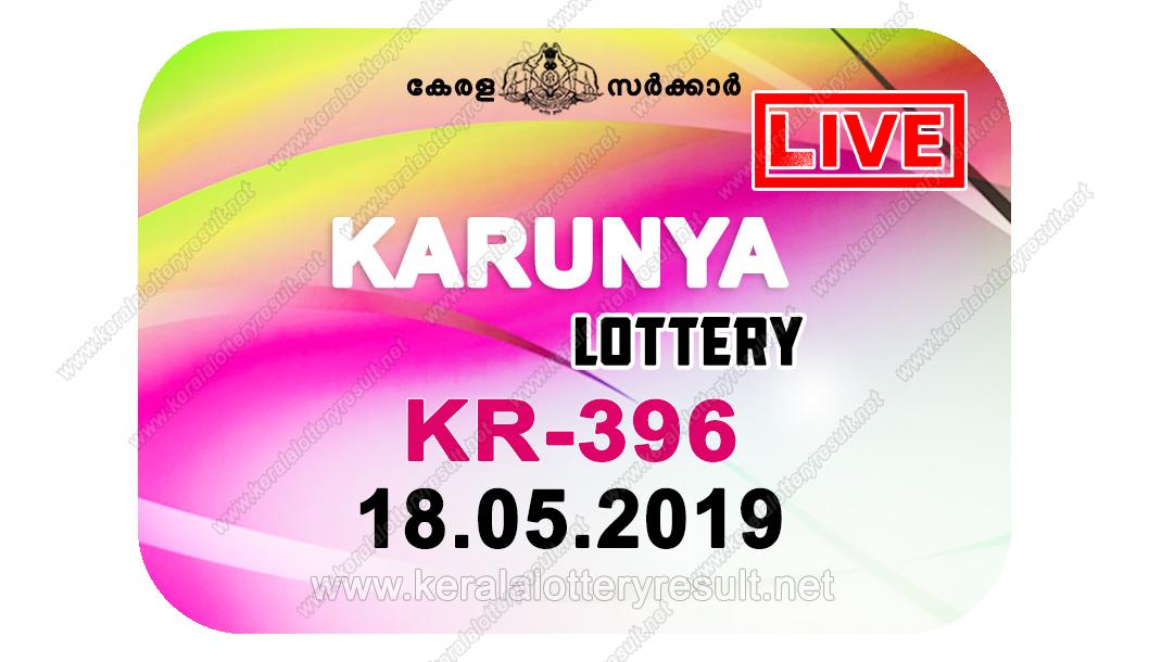 Kerala Lottery Result 18/05/2019 ; Karunya Lottery Results