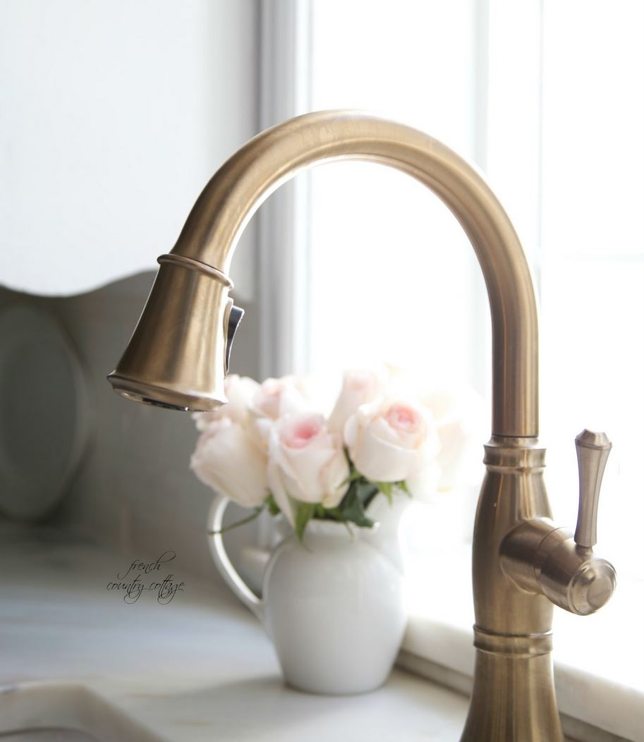 French Country Kitchen Faucet Chalk House Updates Kitchen Remodel Inspiration Chalk Southern