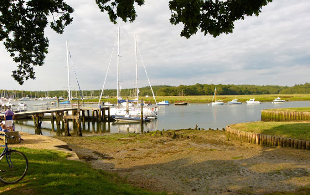 Bucklers Hard, slipways