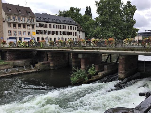 Der Fluss Ill in Strasbourg