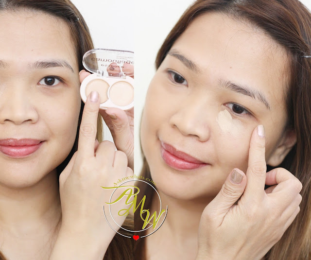 a photo on how to use Essence Camouflage Concealer Review in Natural Beige_askmewhats