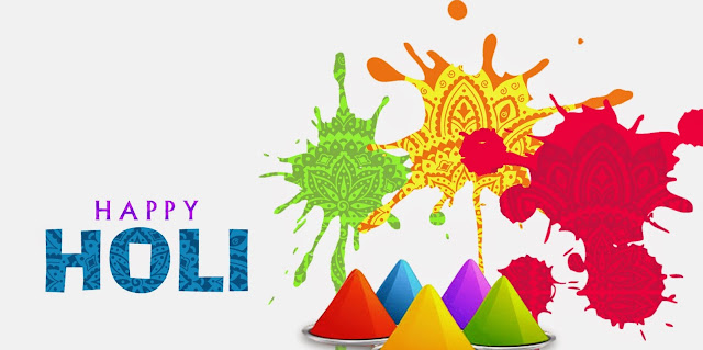 Happy Holi Greeting in English for Friends