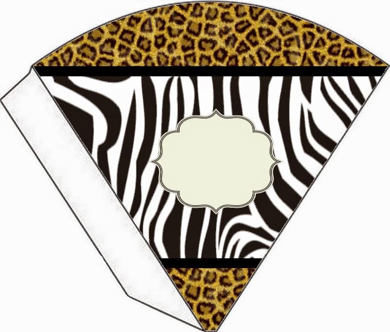 Conos=Cucuruchos de Leopardo y Cebra.