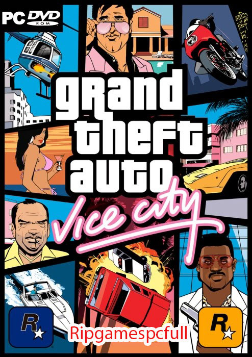GTA Vice City Free PC Games Rip