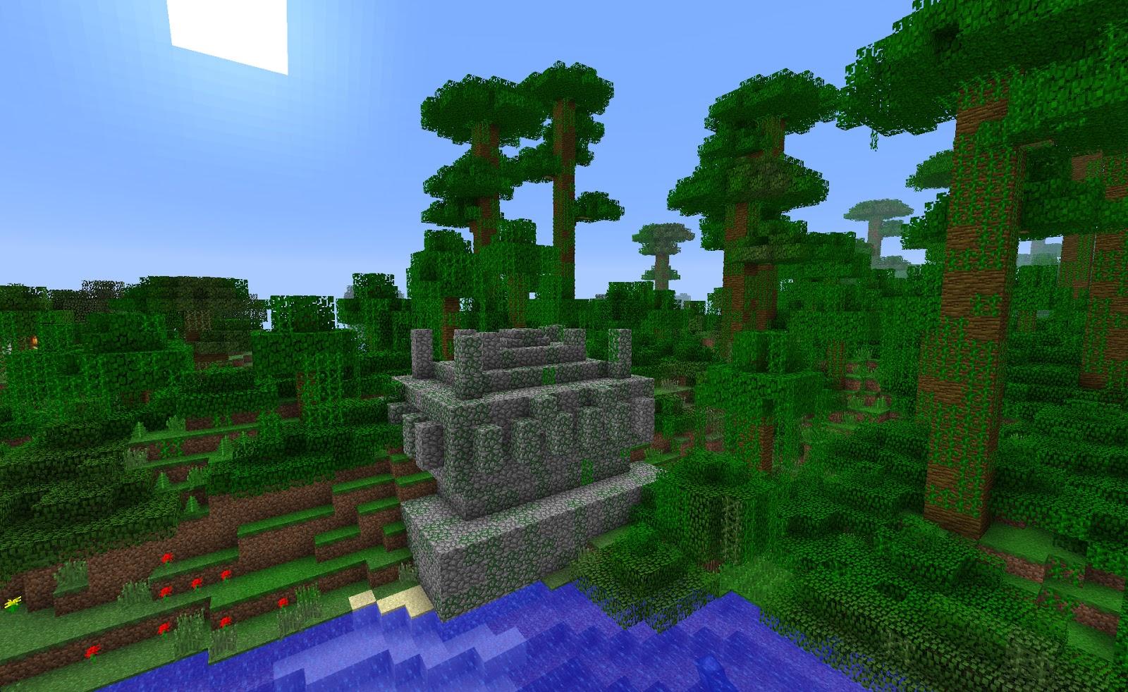 майнкрафт 1 9 0 ключ для генирації світу джунгли #5