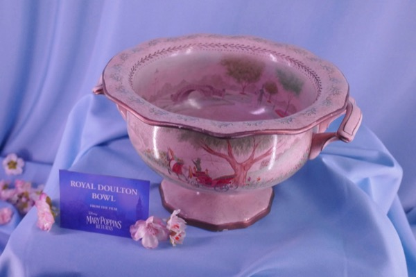 Royal Doulton Bowl prop Mary Poppins Returns