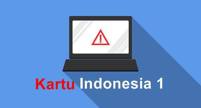 Penerapan Kartu Indonesia 1 atau Kartin1 Di Masa Depan