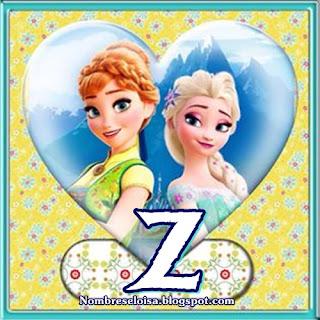 Banderines de Frozen Fever para Imprimir Gratis. Frozen Fever Banners with Alphabet.