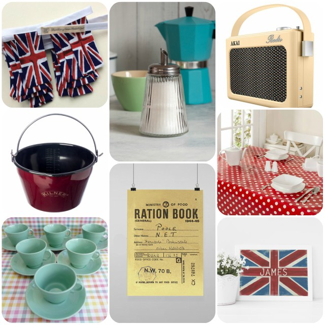 Vintage Tearoom homeware