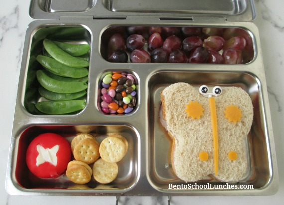 Butterfly Bento Lunch In Planetbox