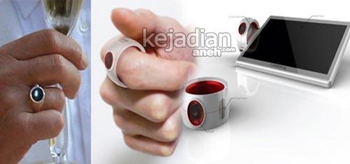 cincin kamera 13 Gadget Canggih James Bond yang Jadi Kenyataan