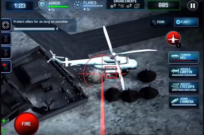 Download drone shadow strike mod apk versi terbaru