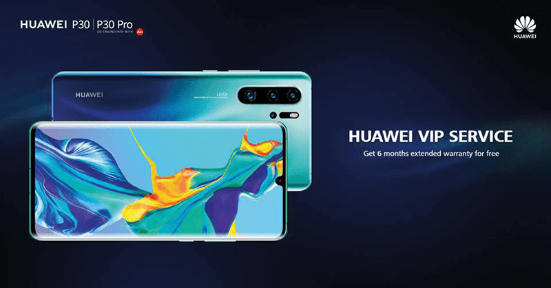Huawei announces extra 6-month warranty for P30 and P30 Pro in PH