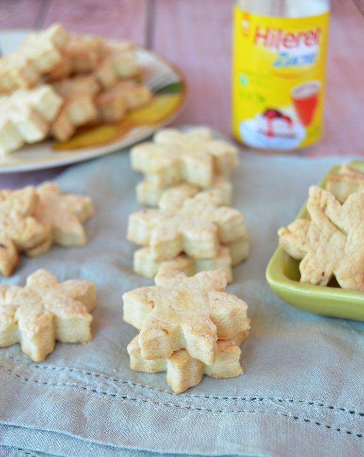 Galletitas de limón sin azúcar