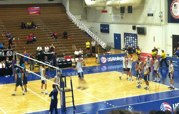 U.S. Men's National Volleyball Team in Colorado Springs