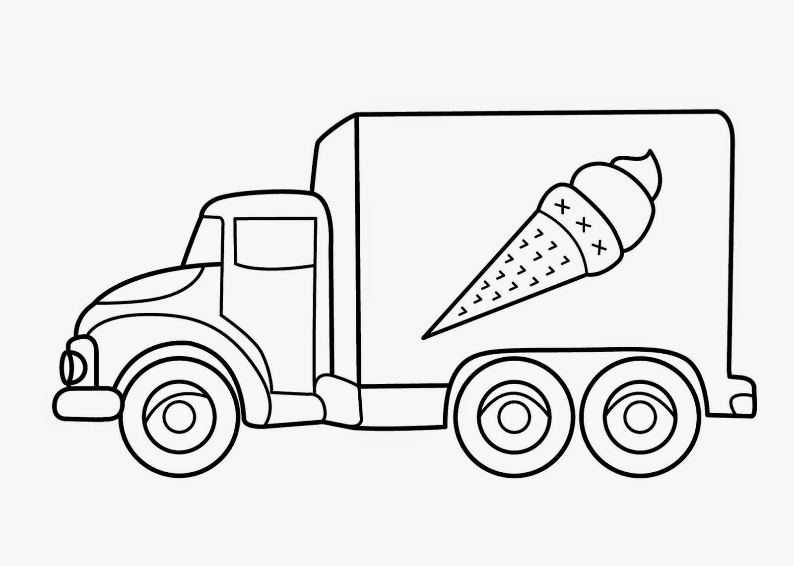 Kids Under 7 Vehicles Coloring Pages - Automobile-coloring-pages