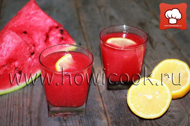 рецепт вкусного смузи с арбузом