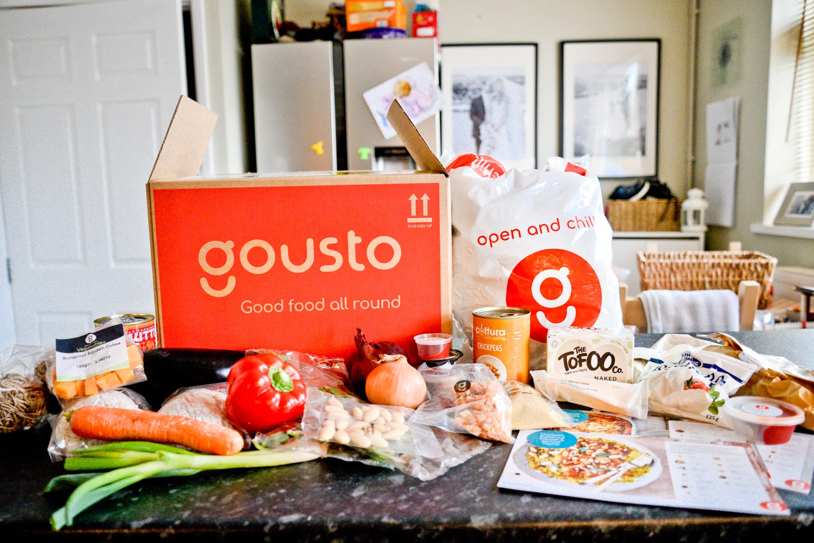 guosto vegetarian meals , gousto, gousto meals, gousto reviews,