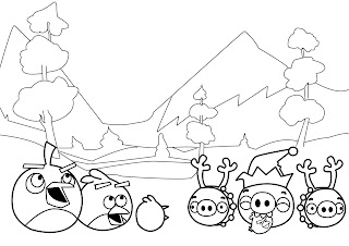 angry monster coloring pages | New Angry Birds Coloring Pages | All Free Coloring Page ...