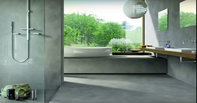 Ceramic bathroom tiles