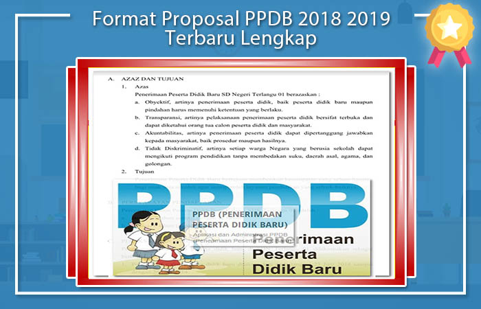 Format Proposal PPDB 2018 2019 Terbaru Lengkap