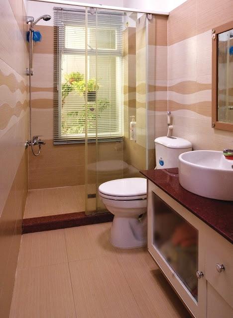 Điều kiêng kị khi thiết kế nội thất phòng vệ sinh