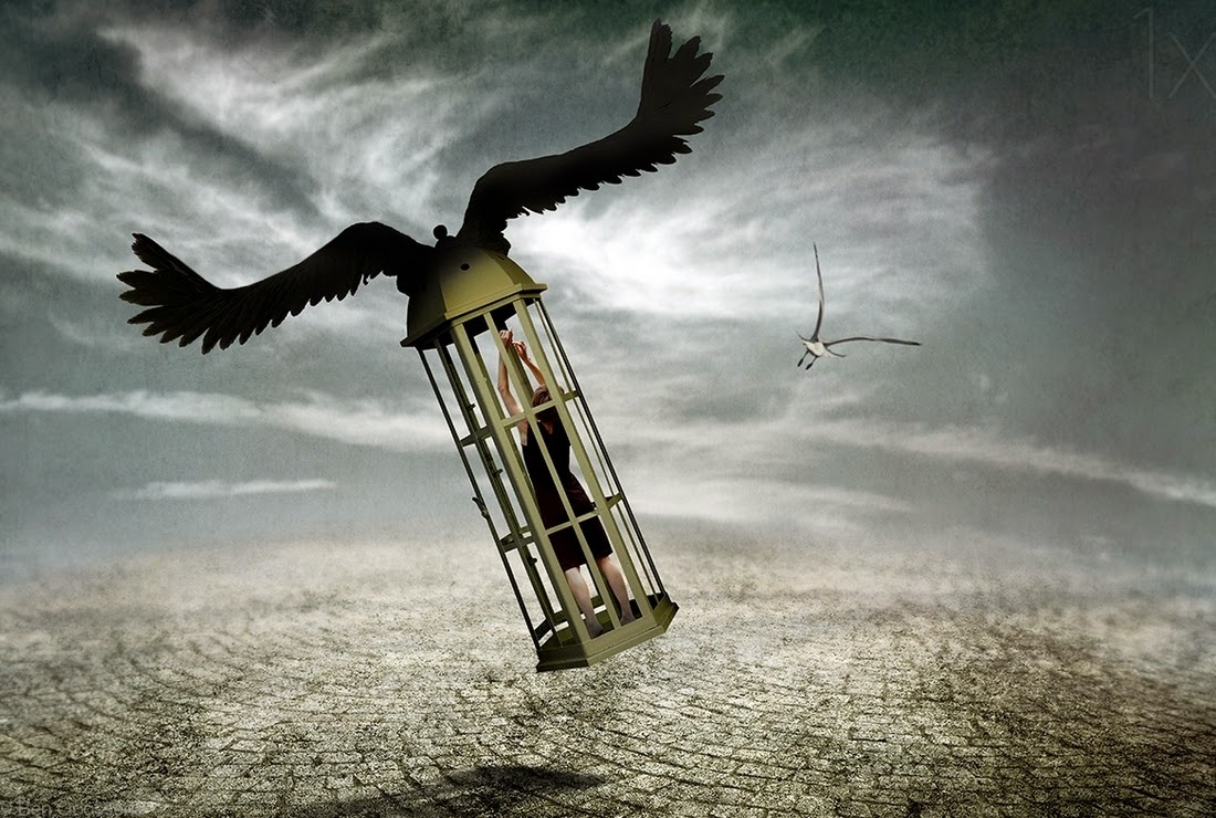17-Dreams-are-Never-Real-Ben-Goossens-Surreal-Photos-of-everyday-Issues-www-designstack-co