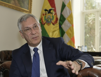 Agente marítimo y expresidente de la República, Eduardo Rodríguez Veltzé / ABI