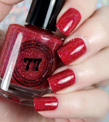 Seventy Seven Nail Lacquer Getting Red-Y