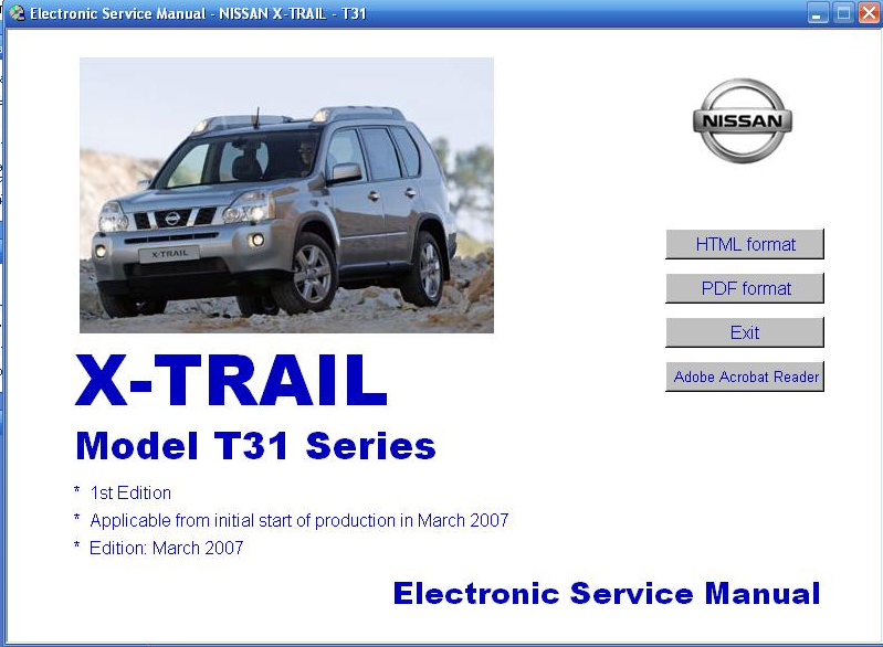 esm electronic service manual nissan d22
