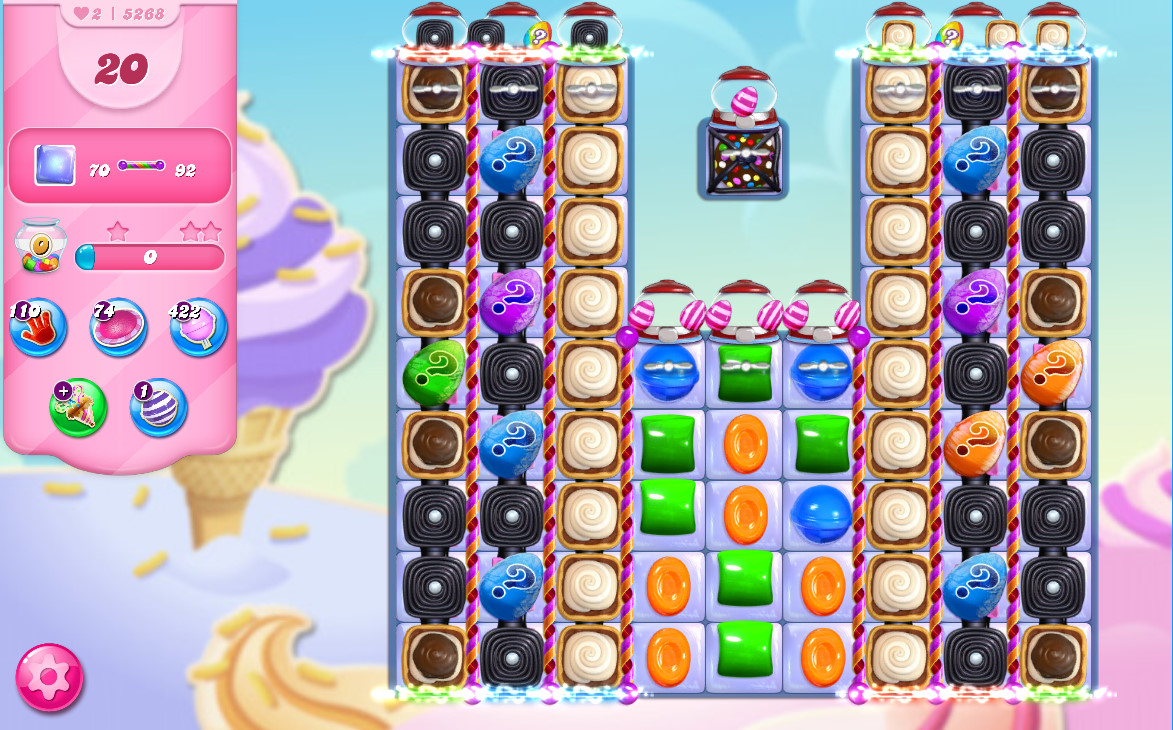 Candy Crush Saga level 5268