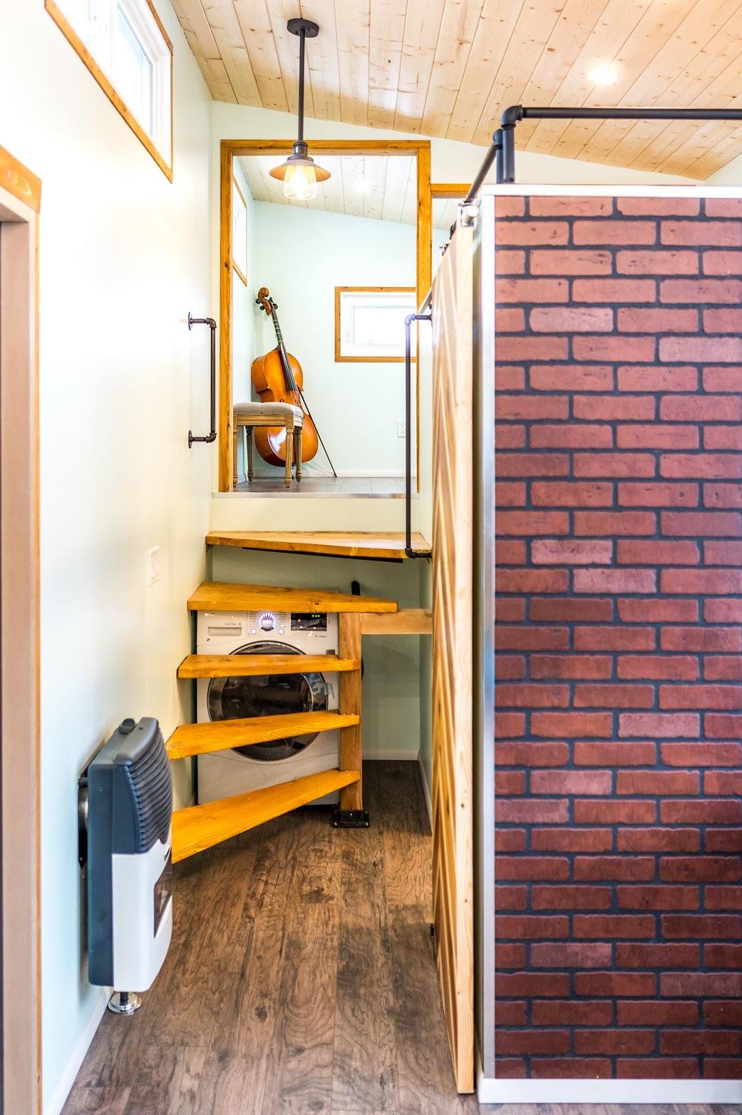 The Vagabond Tiny House (390 Sq Ft) - Tiny House Collectiv on tiny house sketch up, tiny house fad, tiny house blueprints, tiny house 3d model,