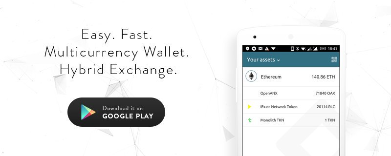 Eidoo - Multicurrency Wallet And Exchange In One Mobile Application