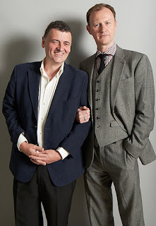 Steven Moffat and Mark Gatiss, co-creators of BBC 'Sherlock'