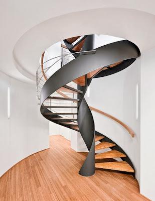 15 model tangga kayu modern minimalis terbaru   desain