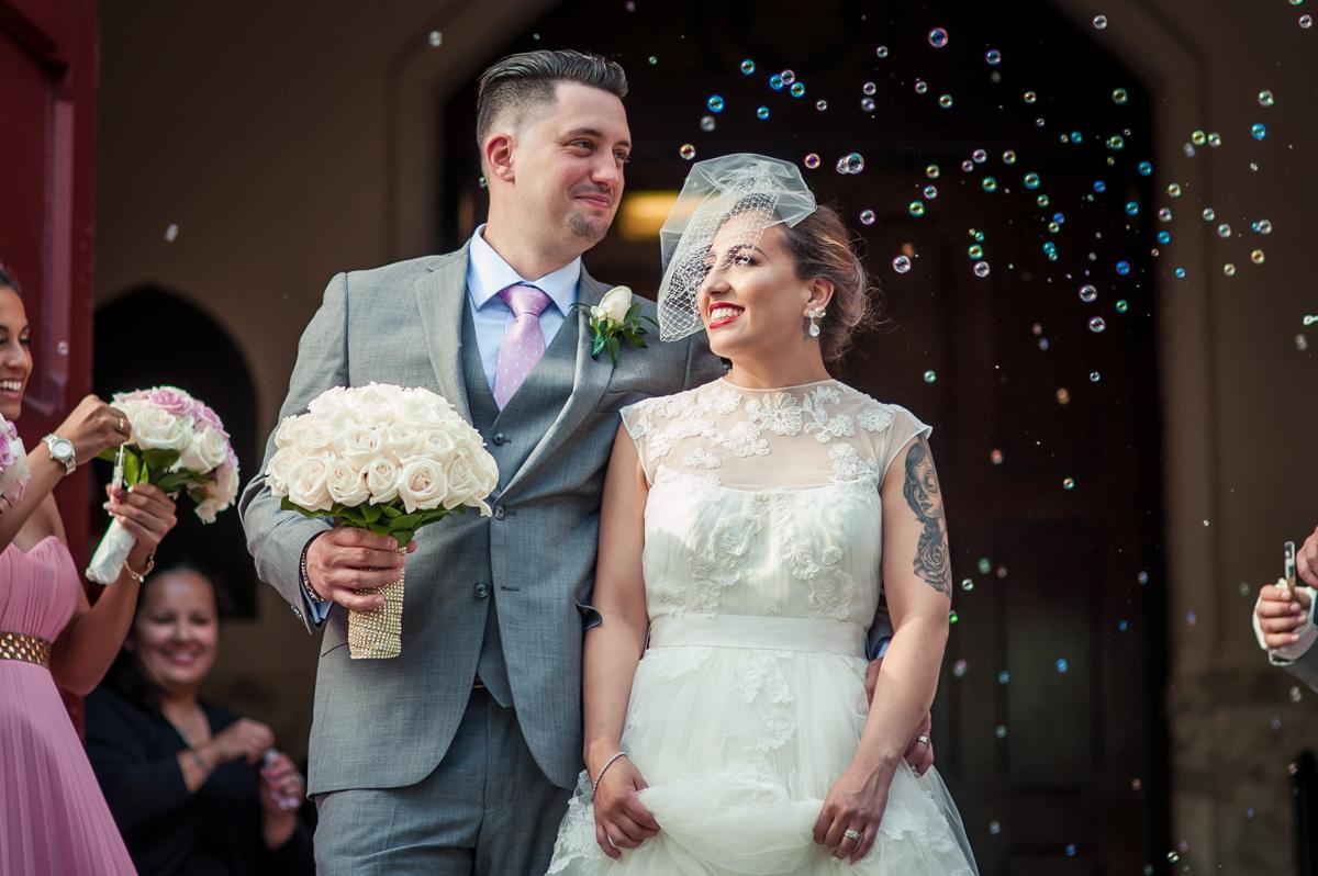 A successful wedding ceremony