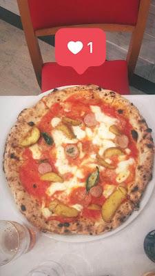 Pizza de Il Segreto di Pulcinella