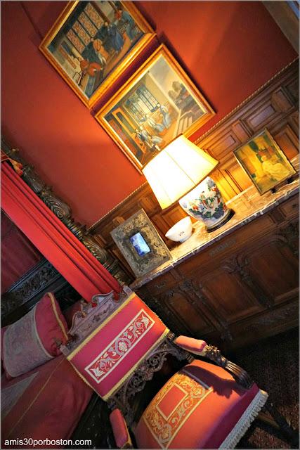 Dormitorio de Consuelo en Marble House, Newport