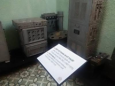 D67シェルター内のベトナム戦争の遺品