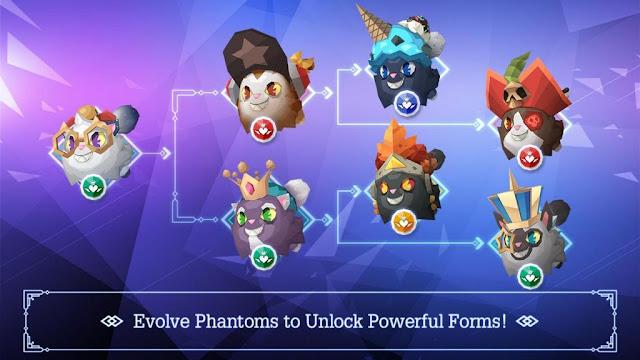 evolve phantoms