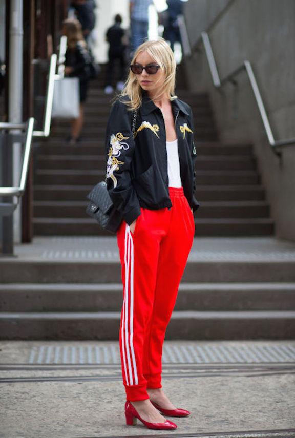 satin bomber jacket, street style